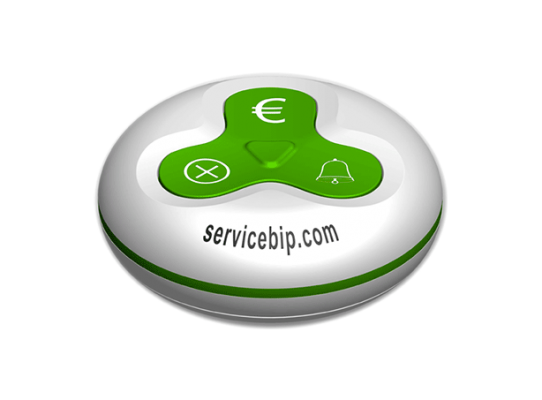 ServiceBip™ (White & Green)